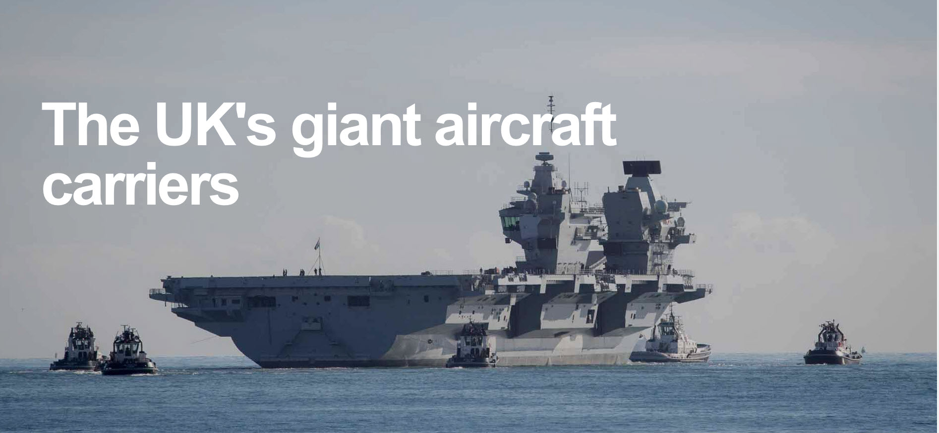 The UK's goliath plane carrying warships